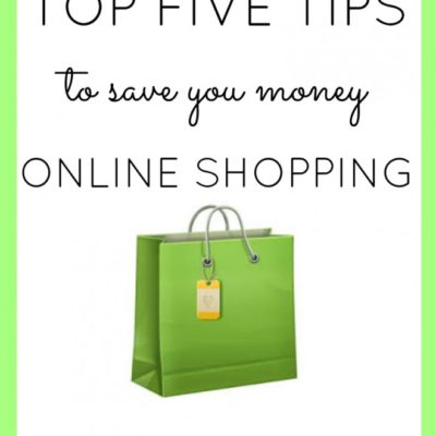 5 Money Saving Tips for Online Shoppers