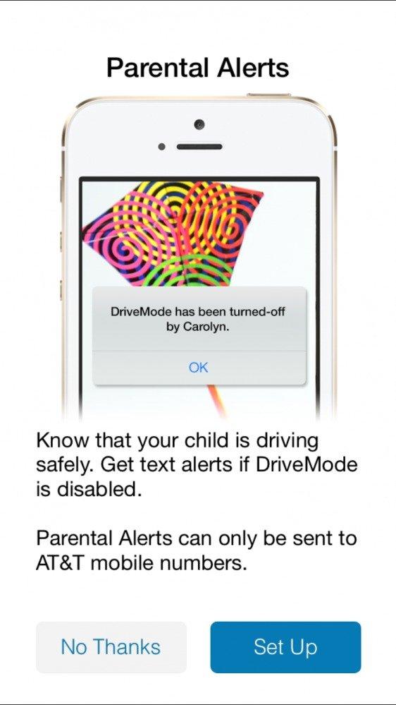 ATT It Can Wait DriveMode