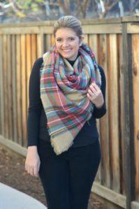 triangle wrap blanket scarf