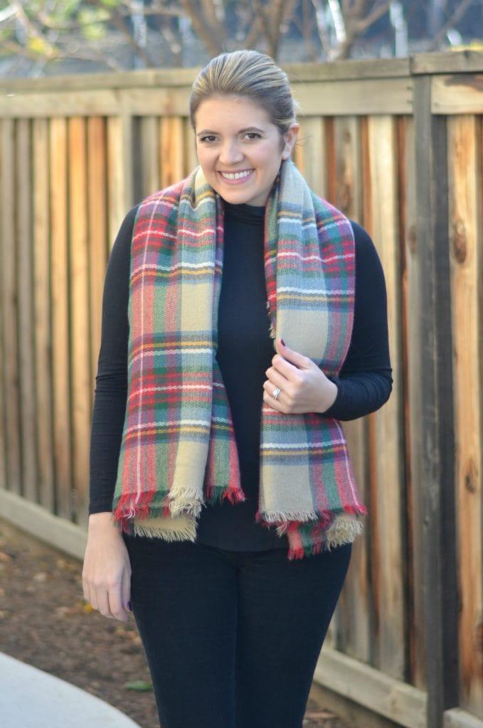 Five Ways to Wear a Blanket Scarf