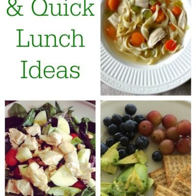 The Best Healthy and Quick Lunch Ideas