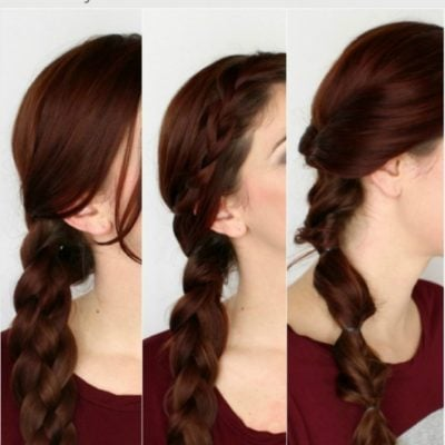 3 Simple Winter Braids You Can Do By Yourself