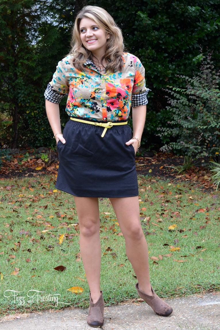booties with a skirt for fall