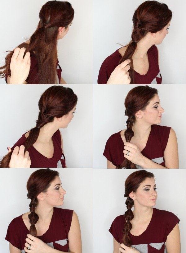 winter braids - topsy turvy