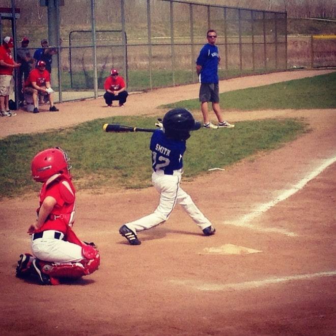 Cooper Baseball Swing
