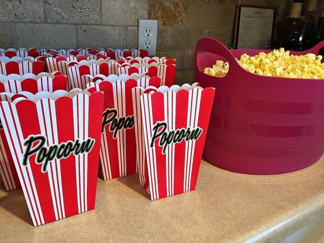 Annie Movie Popcorn