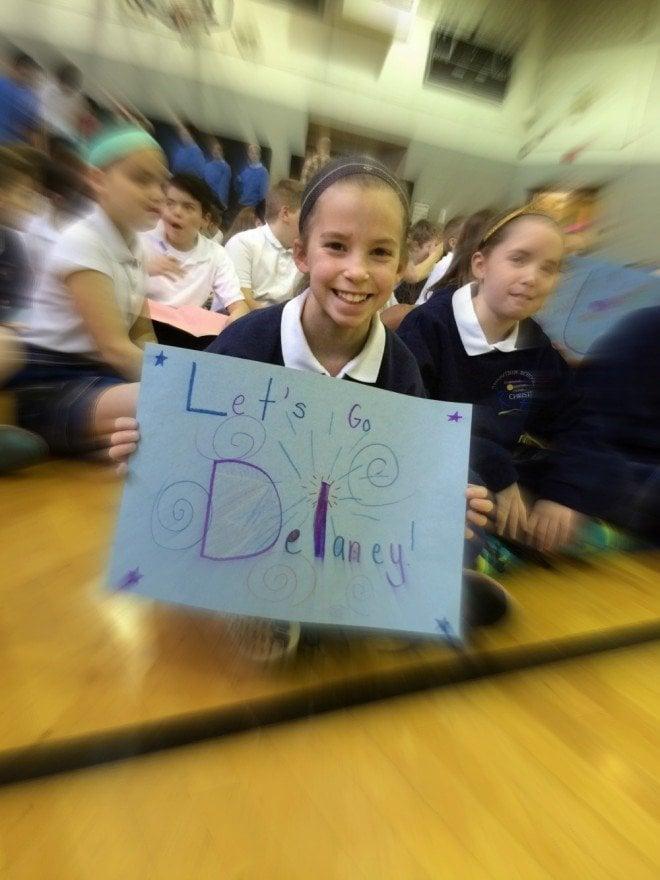 Delaney Spelling Bee Cheering Section - Lauren