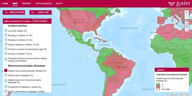 Malnutrition Mapping Project, sponsored by Amway™