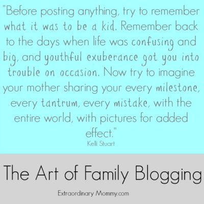 The Art of Family Blogging