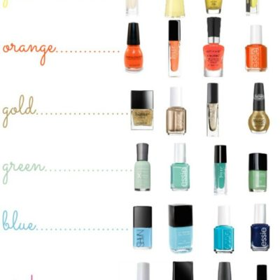 Nail Colors for Spring