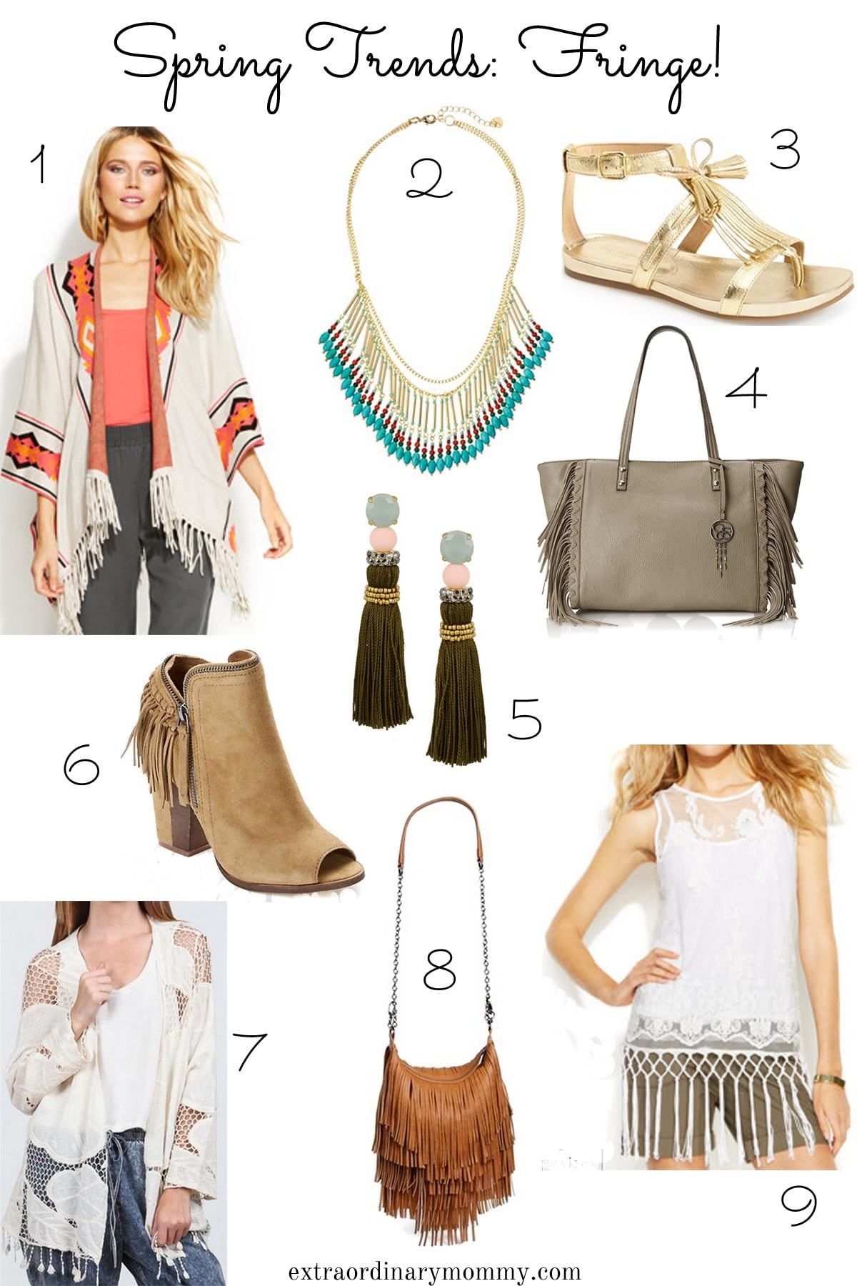 ways to wear fringe for spring