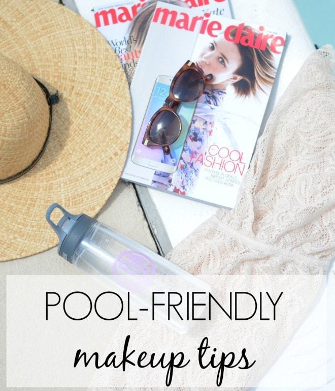 pool-friendly makeup tips