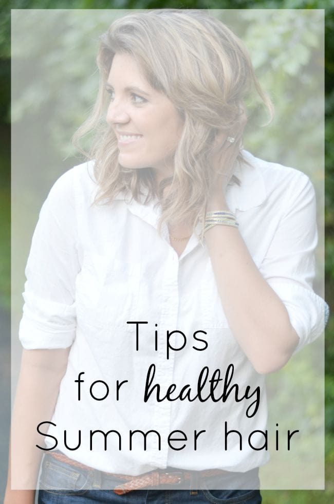 Tips for healthy Summer hair