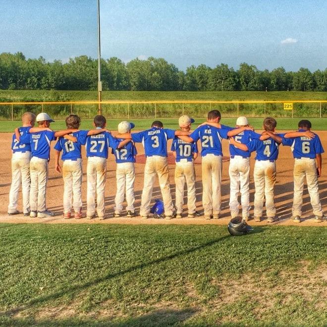 Cooper Baseball Rookies Team 2015