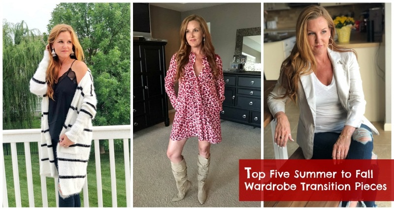Top Five Summer to Fall Wardrobe Transition Pieces