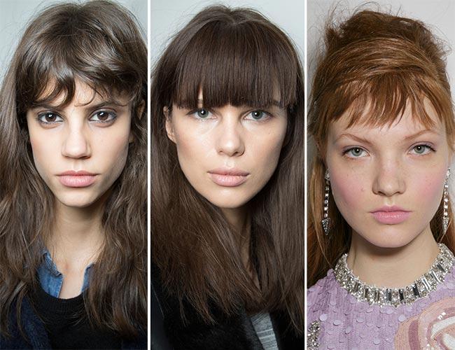 fall hair trends - bangs