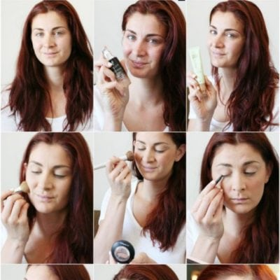 Simple Summer Makeup, Step-by-Step