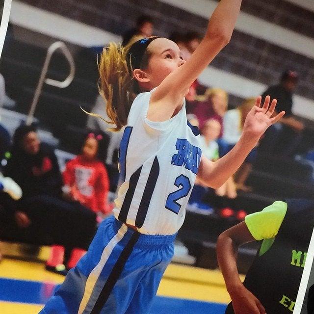 Delaney Basketball Action