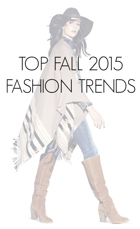 fall 2015 fashion trends