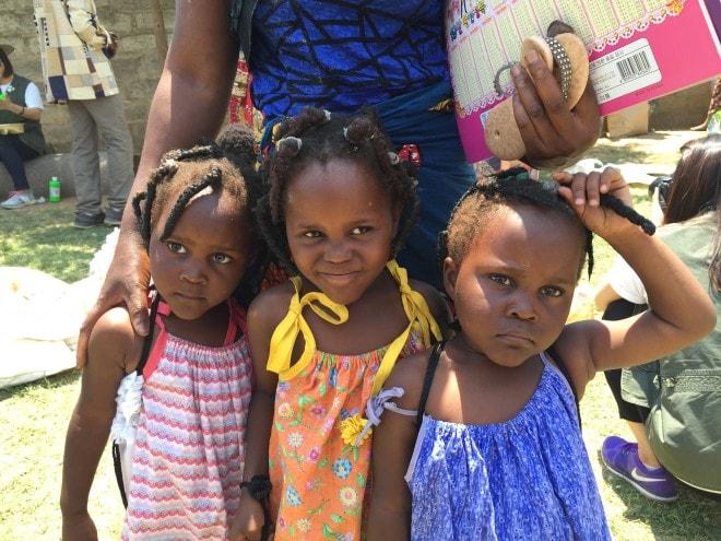 Power of 5, Lusaka Zambia - Triplets