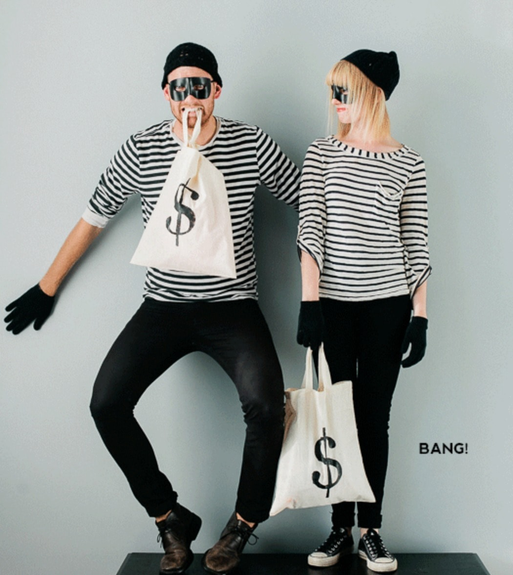costumes from your closet - robber