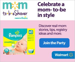 Walmart Pampers Baby Shower