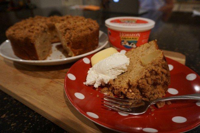 Sour Cream Apple Crumb Cake Horizon2