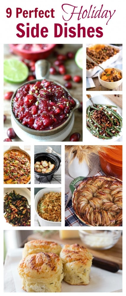 9 Thanksgiving Side Dishes