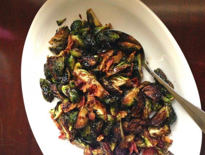 ThanksgivingSweetPeaLifestyleBalsamic Brown Sugar Brussels Sprouts