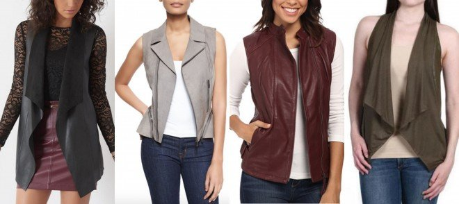 leather vests for fall
