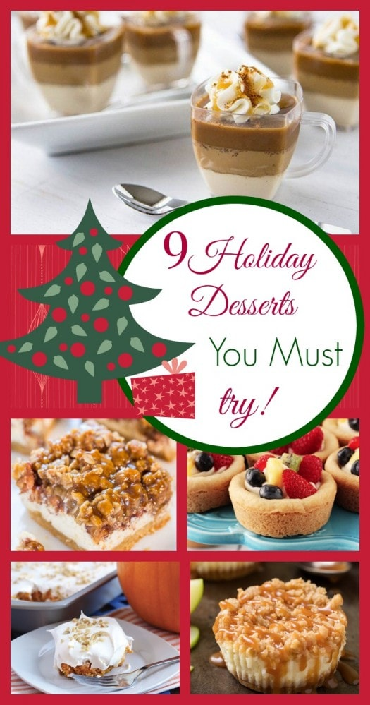9 Holiday Desserts You Must Try