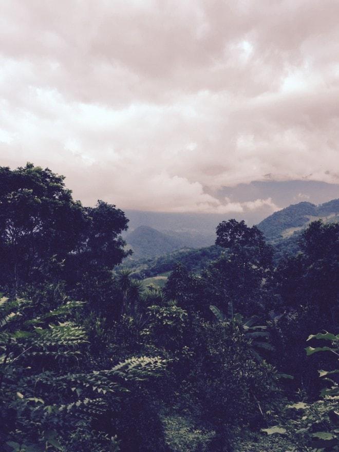 Unbound Honduras3 Mountains Clouds