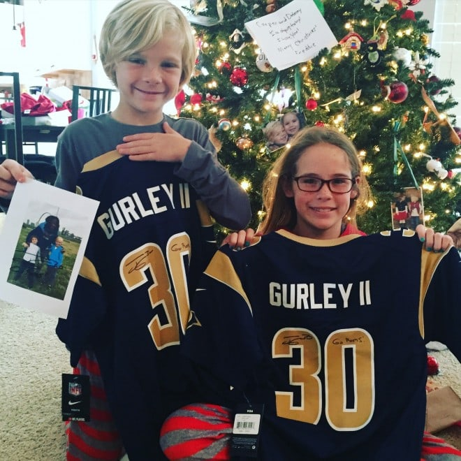 Todd Gurley St Louis Rams Signed Jersey