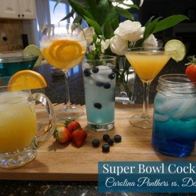 Drink up: Super Bowl Cocktail Recipes for Carolina Panther and Denver Bronco Fans