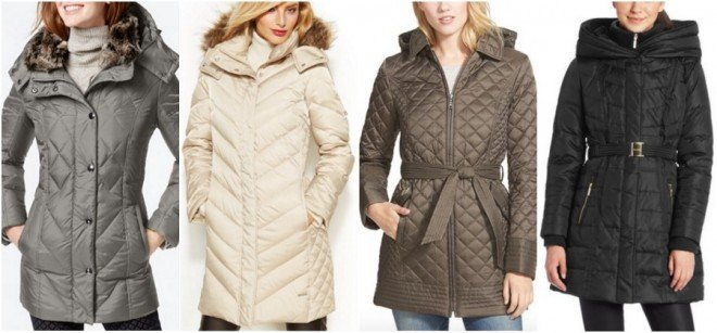 quilted coats under $100