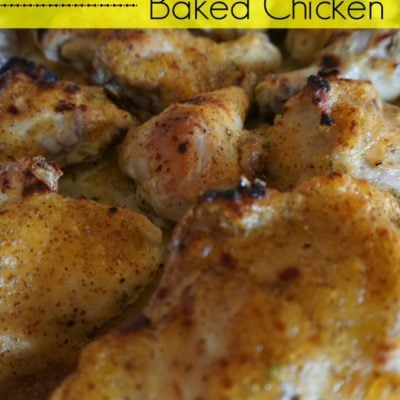 Easy Healthy Recipe: Dijon and Jam Baked Chicken