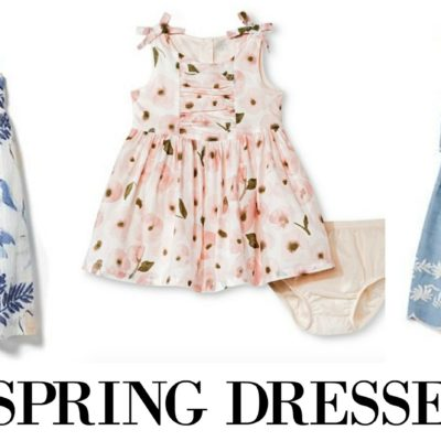 The Cutest Spring Dresses for Girls
