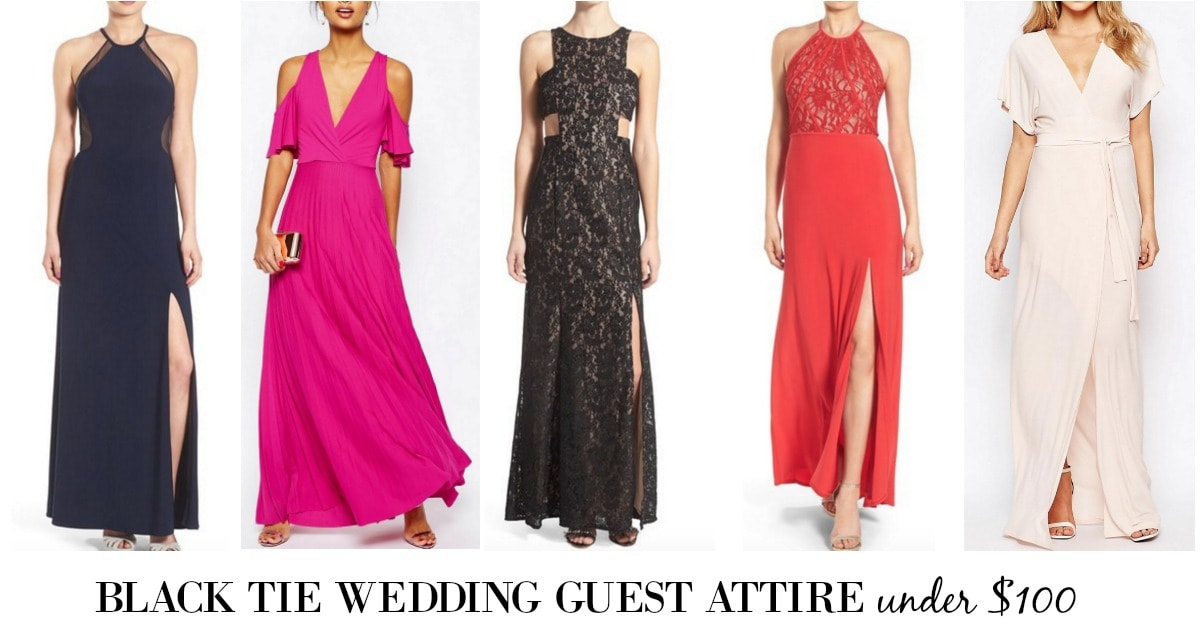 Dresses For Black Tie Wedding Guests