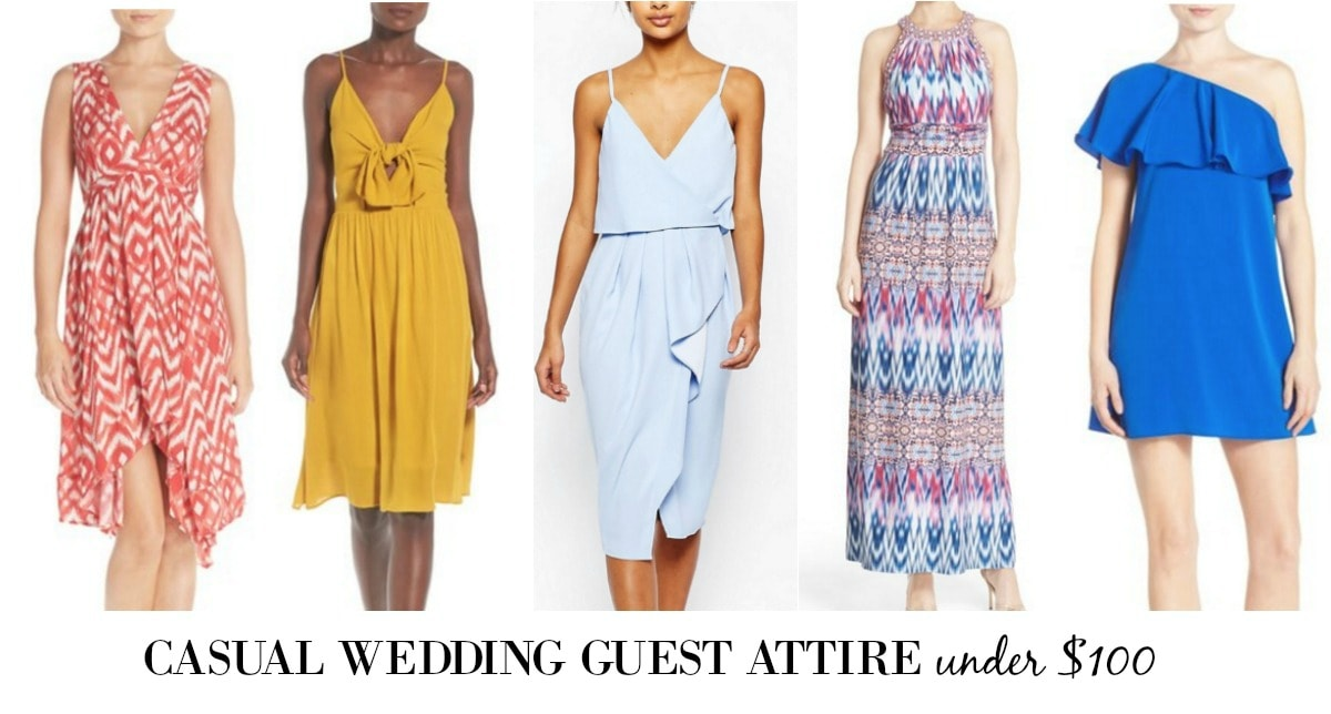 casual attire wedding