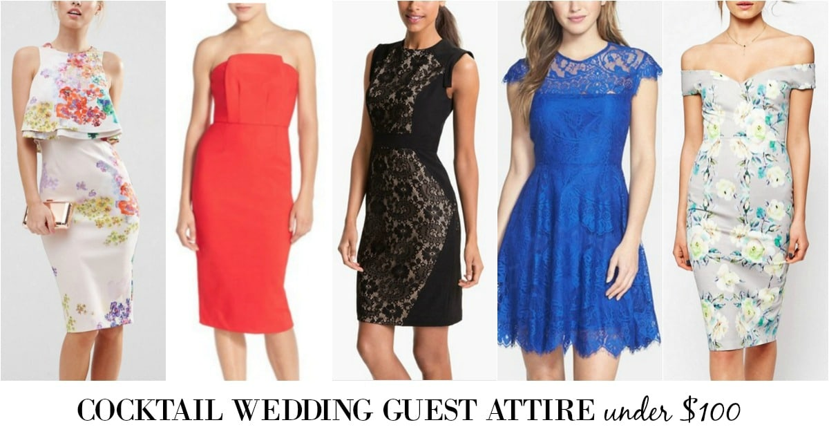 what to wear to a cocktail attire wedding
