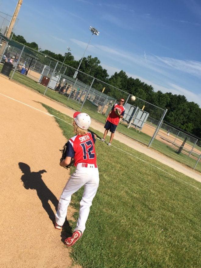 Baseball Catch Coop Jeff