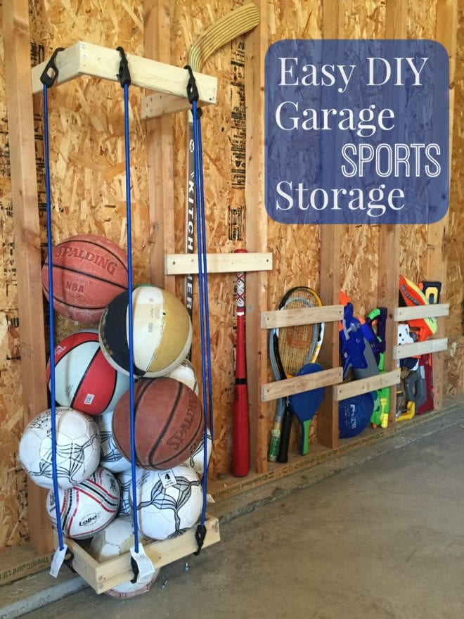 garage sports storage easy diy garage sports storage giveaway pretty 15731