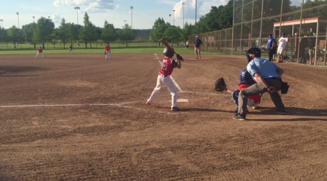 Tips for Summer Survival - Watching the kids play their favorites -Cooper Baseball