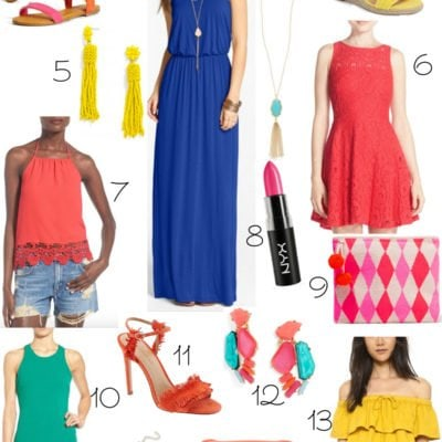 Fashion Brights for Spring and Summer