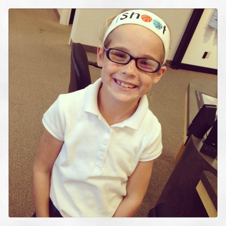 Delaney glasses & headband