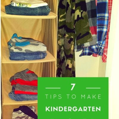 7 Tips to Make Kindergarten Easier for the Whole Family