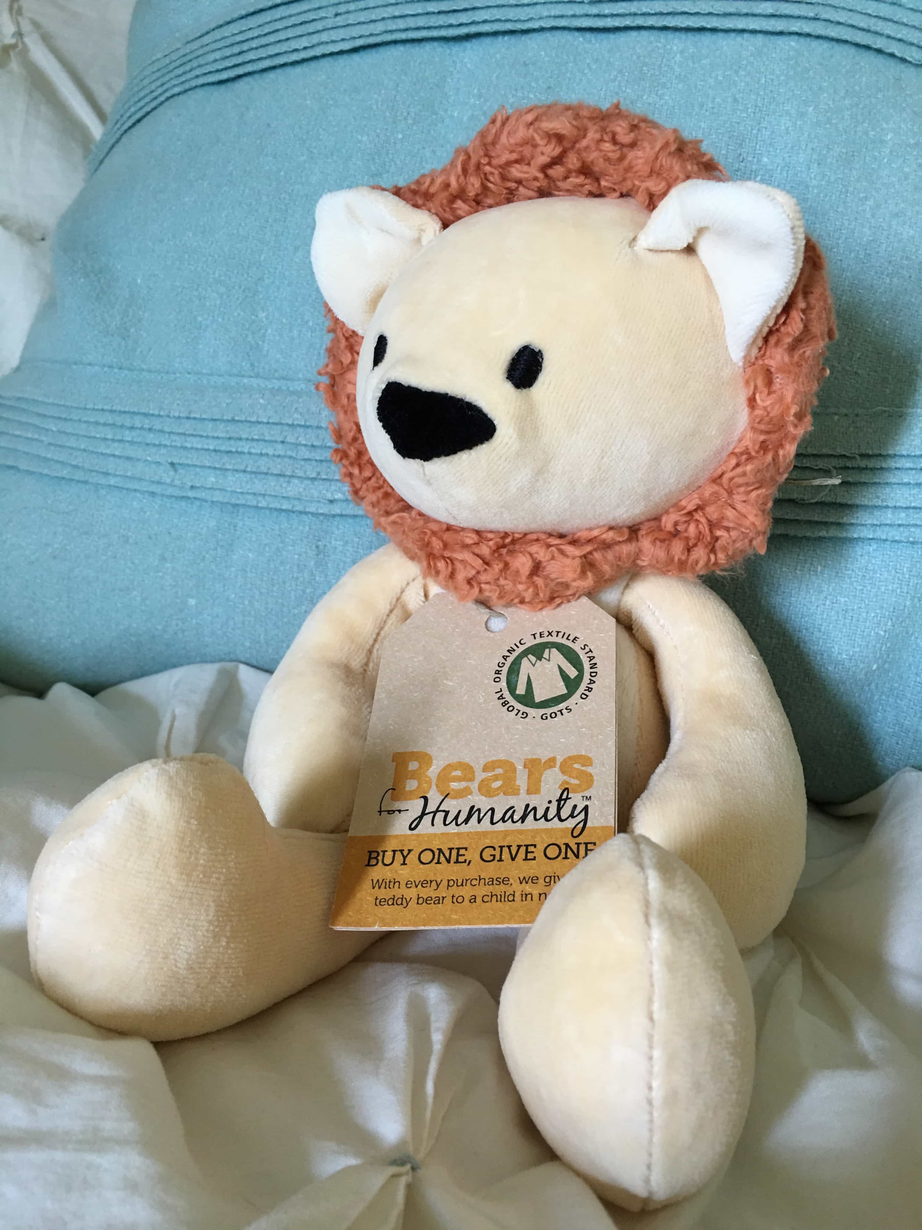 GIfts that Give: Bears for Humanity Lion