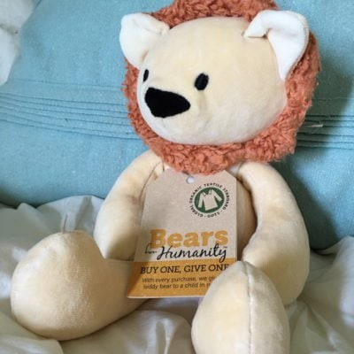Gifts that Give: Bears for Humanity Make the Sweetest Gifts #BearsforHumanity