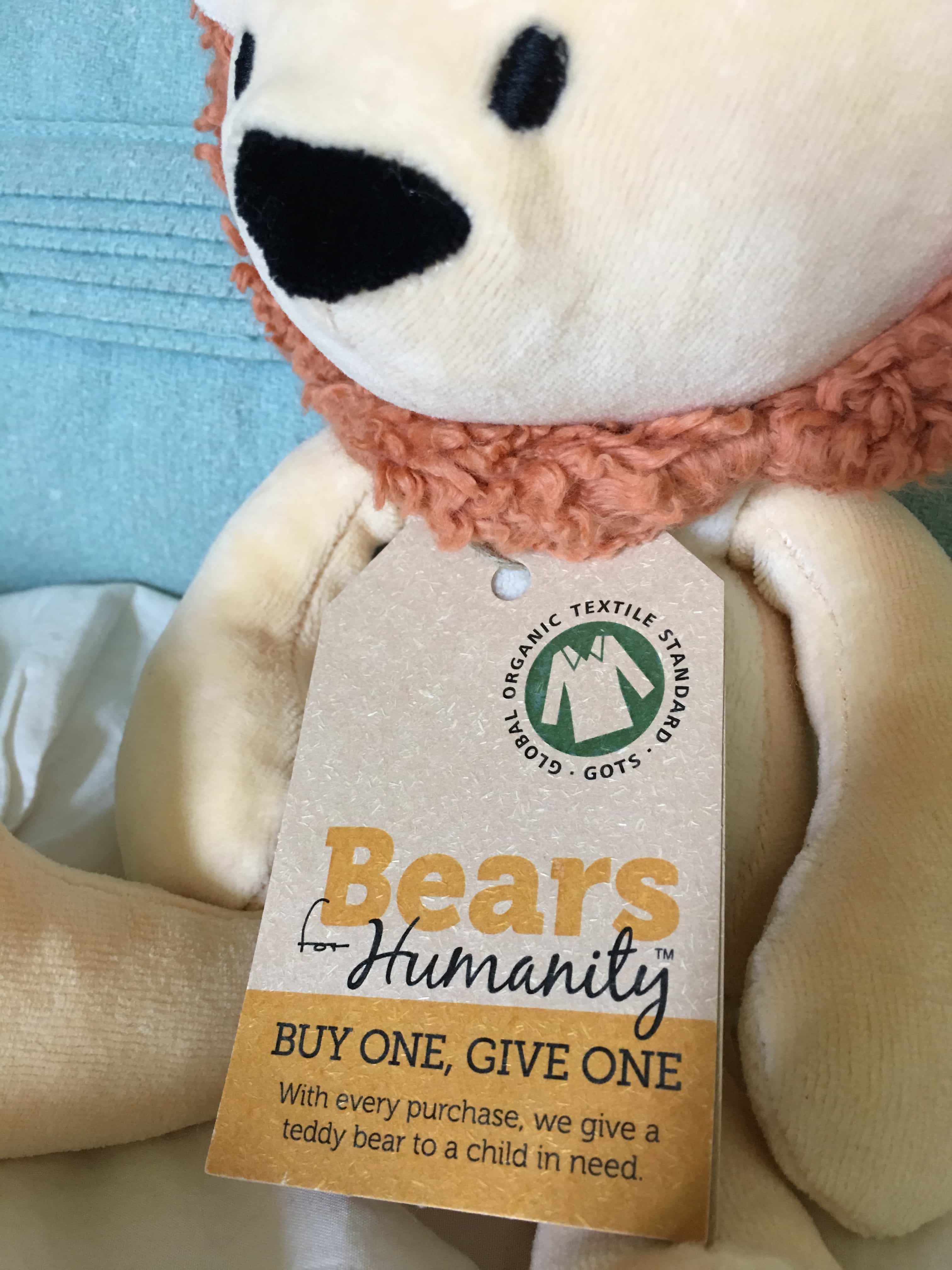 GIfts that Give: Bears for Humanity Lion Closeup