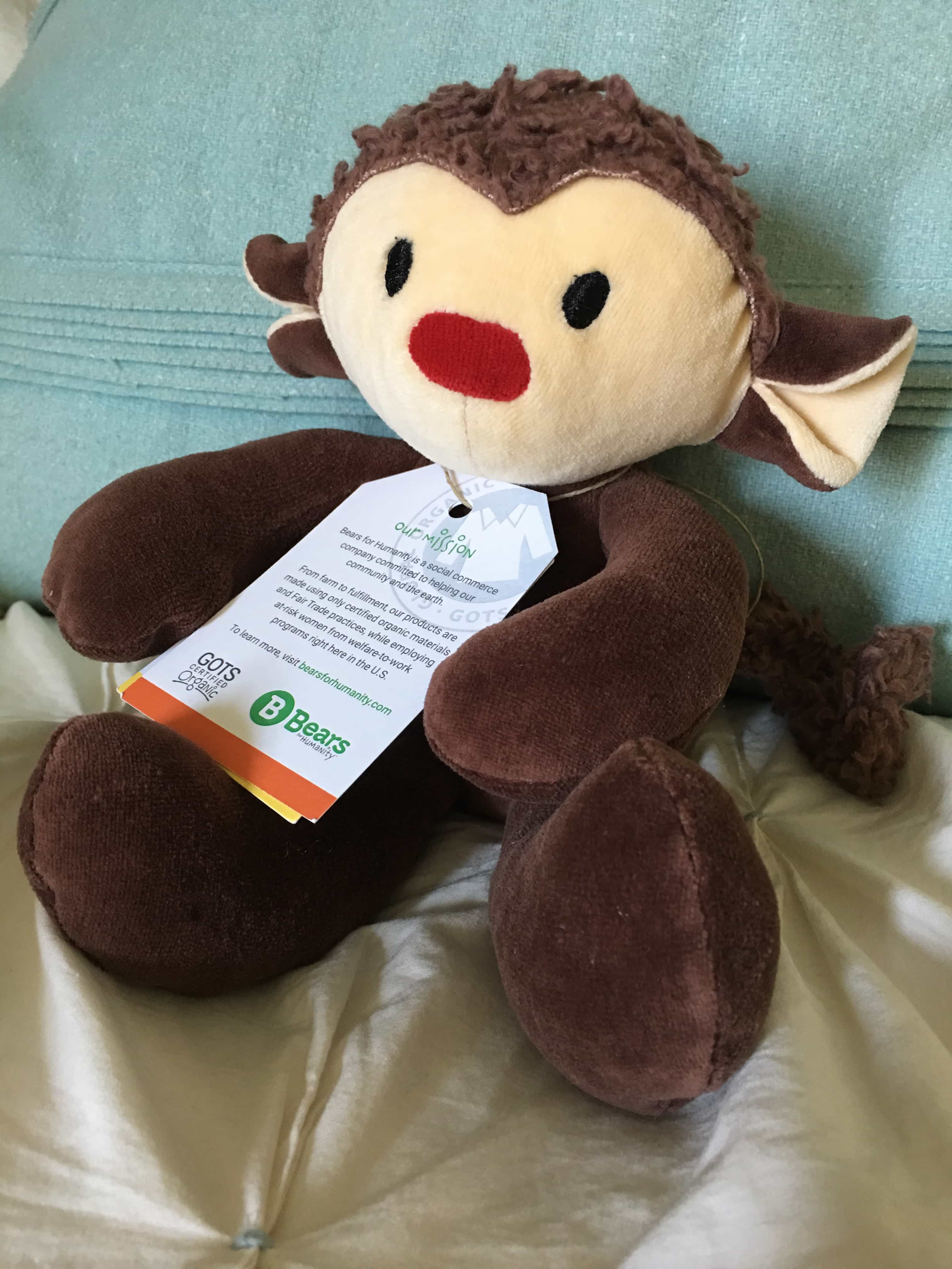 GIfts that Give: Bears for Humanity Monkey